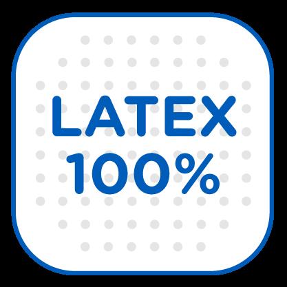 Látex 100%