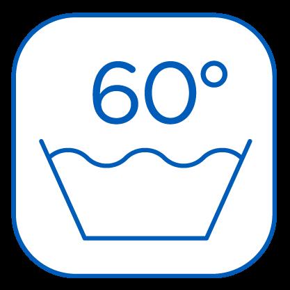 Lavado máximo a 60º